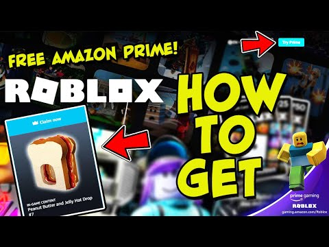 How To Get A FREE Trial of Amazon Prime Gaming To Get EXCLUSIVE Item Promo Code In Roblox