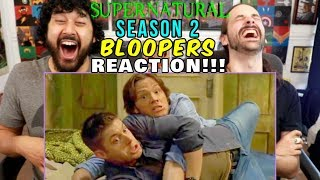 SUPERNATURAL - Season 2 BLOOPERS / GAG REEL - REACTION!!! by The Reel Rejects