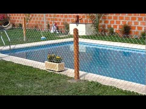 Cercos para piscinas videos videos relacionados con for Como hacer una pileta de natacion