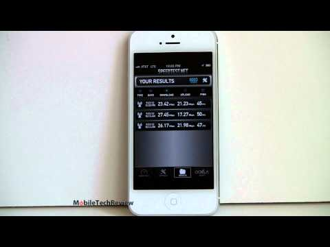 iphone 5 review - Lisa Gade reviews the new iPhone 5. Apple's latest smartphone with a 4