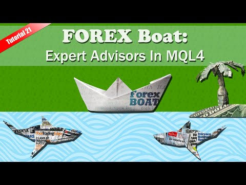 Expert Advisors in MetaTrader 4 – MQL4 for Complete Beginners Tutorial Part 21