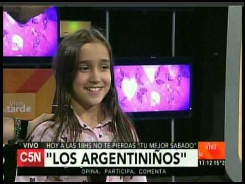 C5N – VIVA LA TARDE: PRESENTACION DE ARGENTINIÑOS 18 – 07 -2015