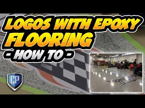 Logos With Epoxy Flooring – How To