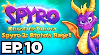 Spyro 2: Ripto's Rage Ep.10 - ICY SPEEDWAY, CRYSTAL GLACIER! (Reignited Trilogy Gameplay Let's Play)