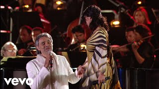 Video Andrea Bocelli, Laura Pausini - Dare To Live (HD) ft. Laura Pausini MP3, 3GP, MP4, WEBM, AVI, FLV Juli 2018