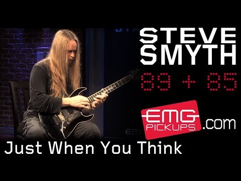 Steve Smyth plays 'Just When You Think' live on EMGtv