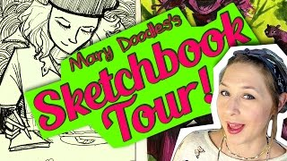 SKETCHBOOK TOUR! Travel in Europe part 1