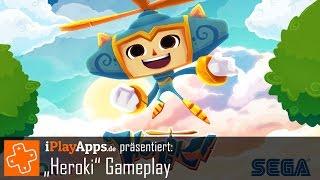 Heroki Gameplay Video (von iPlayApps.de)