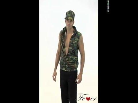 Deguisement militaire jungle