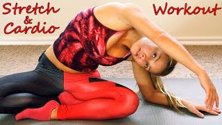 Intense Cardio Workout & Flexibility Stretches Exercises - Dance Fitness w/ Donnie - YouTube