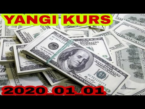 KURS VALUTA  EURO DOLLAR RUBL TENGGE 1 января 2020 г.