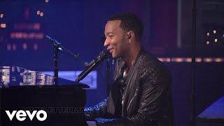 John Legend - P.D.A. (We Just Don't Care) (Live on Letterman)
