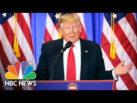 Download Donald Trump's First Press Conference as President-Elect: Top Moments | NBC News HD Mp4 3GP Video and MP3