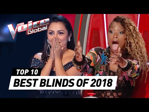 Download TOP 10 | BEST BLIND AUDITIONS OF 2018 | The Voice Rewind