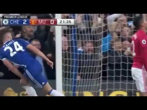 Chelsea vs Manchester United 4 0 2016 Highlights Premier League 23 10 2016