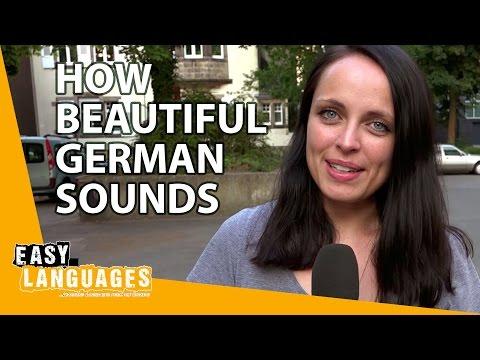 Прелестные звуки немецкого языка в сравнении