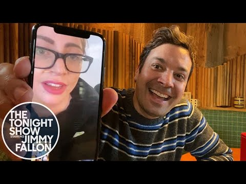 The Tonight Show: At Home Edition (Jimmy Checks in with Lady Gaga)