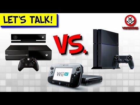 PS4, Xbox One und Wii U im Vergleich: 1 Jahr Next-Gen!  - Let's talk!