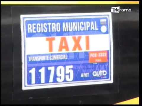 Taxis permitidos de circular más días en la capital