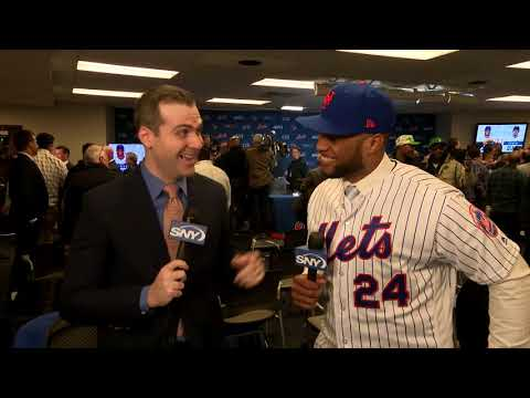 Video: Robinson Cano thrilled to return to New York with the Mets