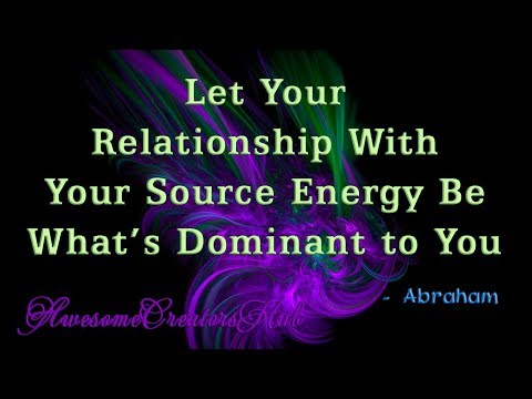 Quotes about happiness - Abraham Hicks Snippet:  Let Your Relationship With Your Source Energy Be What's Dominant to You
