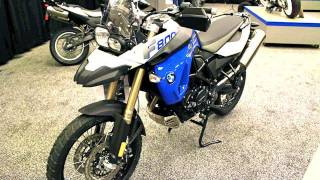 8. 2012 BMW F800GS Motorcycle - NEW F800 GS Walkaround