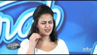 Arab Idol - Ep3 - Auditions - غزل شعشاعه