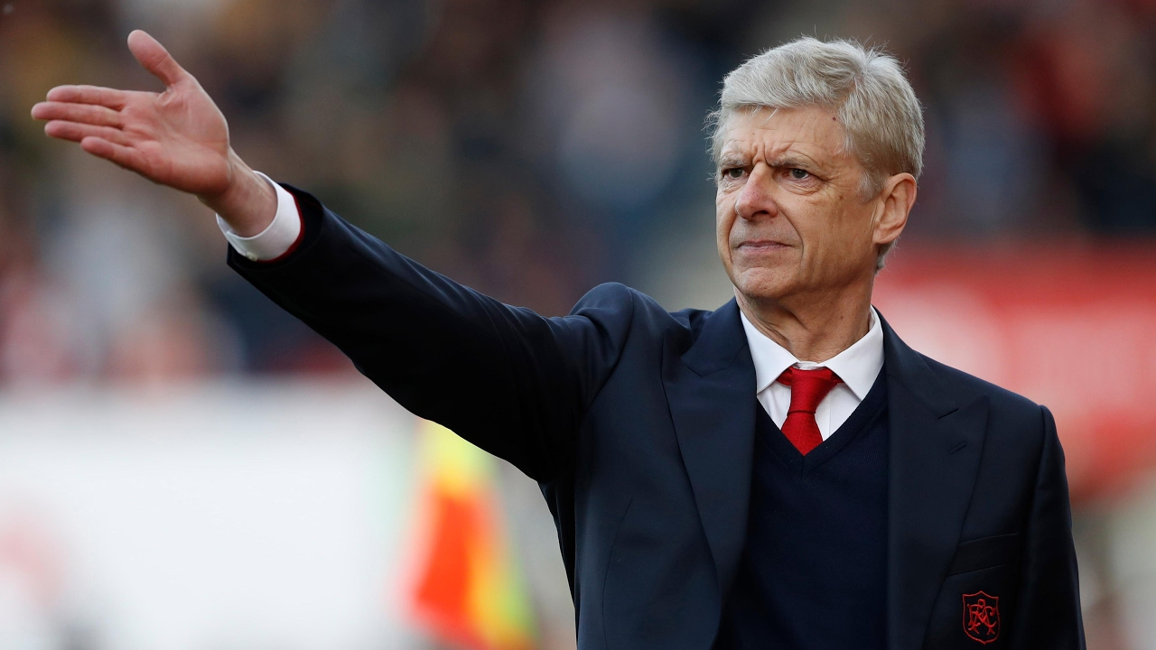 Arsène Wenger: '69 points today, let's make 72 on Tuesday' – video