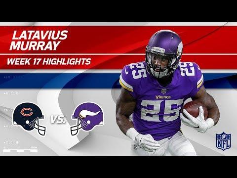 Video: Latavius Murray's Massive Game w/ 2 TDs & 111 Rushing Yds! | Bears vs. Vikings | Wk 17 Player HLs