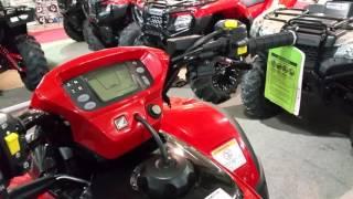 6. 2016 Honda FourTrax® Rincon® Red (TRX680FA)