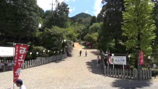 石上げ祭(5)尾張富士山頂 奥宮へ献石奉納・参詣