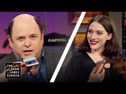 Jason Alexander Re-Records George Costanza's Message for Kat Dennings
