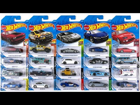 Opening New Hot Wheels K Case And L Case Cars!