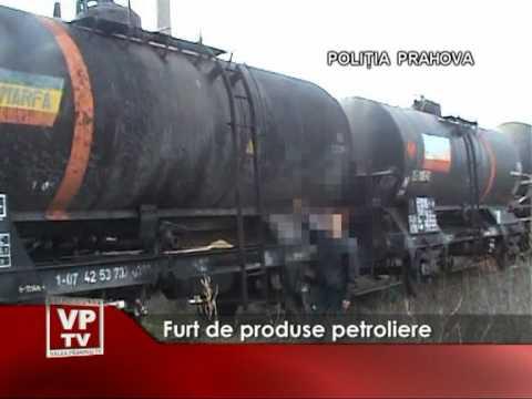 Furt de produse petroliere