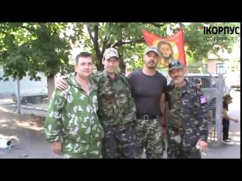 Интервью с экипажем БТР 23.07.2014 (видео)