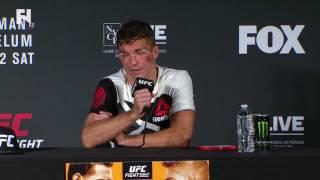 UFC Fight Night Long Island: Darren Elkins Post-Fight Presser - I Want 'Zombie, Cub Swanson' Next by Fight Network