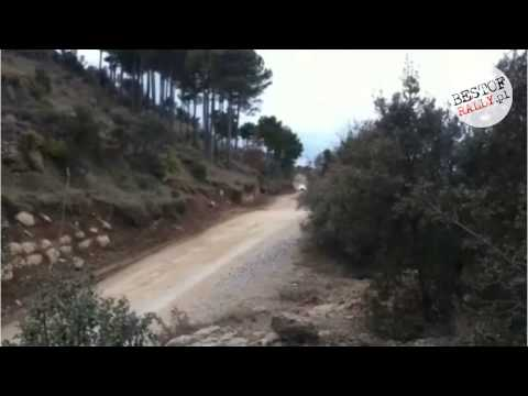 Robert Kubica test before Rally México - Ford Fiesta RS WRC