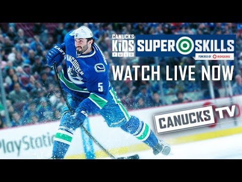 Canucks - Predictions? Tweet it to @VanCanucks, using #SuperSkills and let us know you're watching our @YouTube stream! The Vancouver Canucks, in partnership with Rogers, are proud to host the 2013.14...
