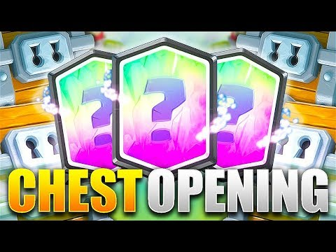 300000 GEMS to open Super Magical Chests!!!  | Clash Royale
