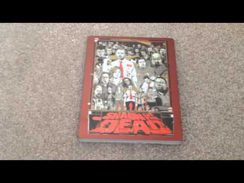 Shaun Of The Dead (Mondo) Blu-Ray Steelbook Unboxing