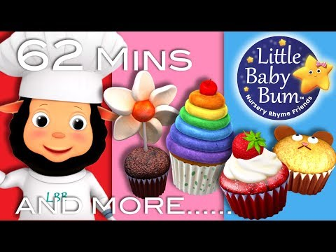 The Muffin Man | Plus Lots More Nursery Rhymes | 63 Minutes Compilation From LittleBabyBum!