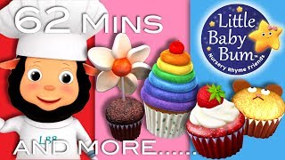 Download Lagu The Muffin Man | Plus Lots More Nursery Rhymes | 63 Minutes Compilation from LittleBabyBum! Mp3