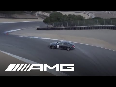 Mercedes Benz   C63 AMG Drifting in Laguna Seca | Video