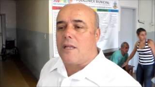 Com absoluta exclusividade, a TV Portal esteve na Policlínica com o prefeito Toninho do Ninico - DEM