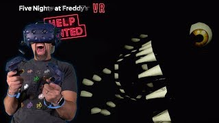 NIGHTMARE MODE!! | Five Nights At Freddy's VR: Help Wanted [FNAF VR]