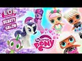 Download Lagu LOL Surprise Dolls Compete to Work at Rarity's Beauty Salon!!! | My Little Pony Adventures Mp3 Free
