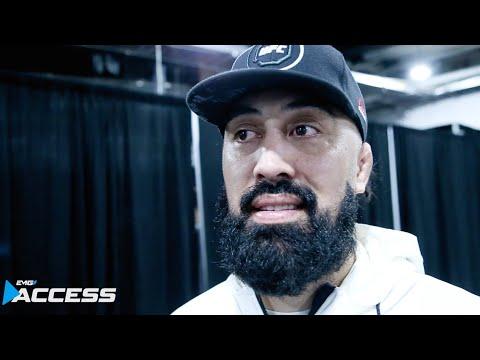UFC 236 Israel Adesanya's Coaches Post Fight Interivew