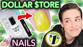 Video Dollar Store Nail Art Challenged (when the taco doesn't dry) MP3, 3GP, MP4, WEBM, AVI, FLV Juli 2018