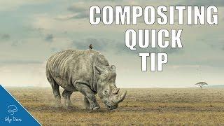 COMPOSITING QUICK TIP (Colour) - Photoshop #62