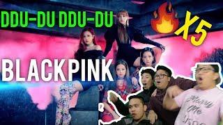 """Video ITS OVER.... BLACKPINK hit us with that """"DDU-DU DDU-DU"""" (x5 MV REACTION) and we don't survive.... MP3, 3GP, MP4, WEBM, AVI, FLV Juli 2018"""